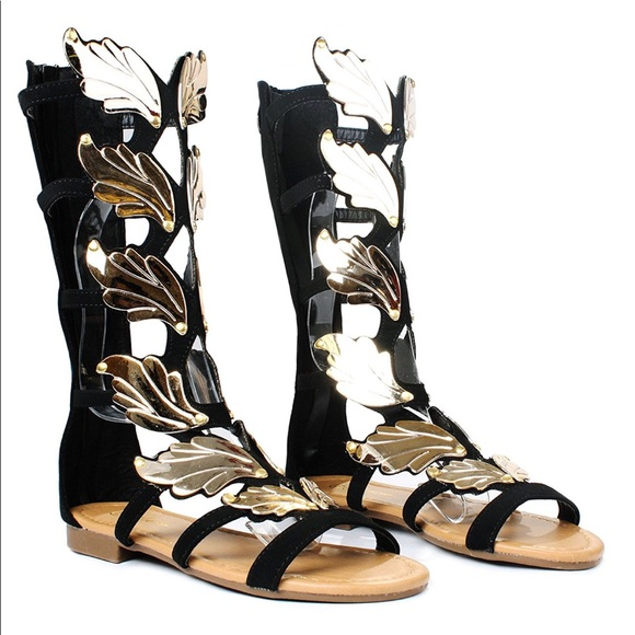 95ac93f61dc Women s Gladiator Sandals Angel Wing Sandals 10